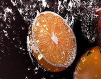 Orange Splash!
