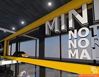 Min Cooper Showroom