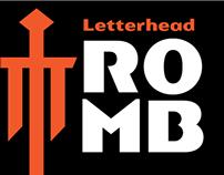 Romb Typeface