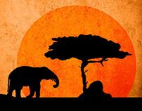 David Attenborough - BBC Africa poster