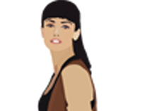 Penelope Cruz Vector Illustration