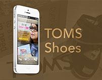 TOMS Shoes Mobile App