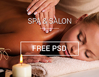 Spa & Salon (One Page Theme)