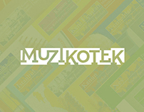Muzikotek - Web Design