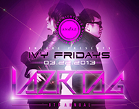 Electro Nightclub/Lounge Poster Series