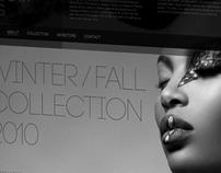 Fashion studio website