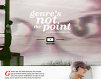 """Genre's Not The Point"" website"