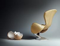 WYKLUTY lounge chair
