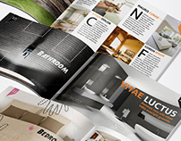 Multi-Purpose Interior Design Brochure/Catalogue