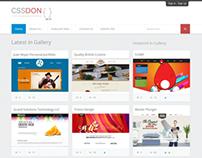 CSSDON CSS Inspiration Gallery
