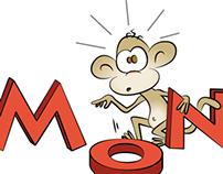 Logo til No Monkeys
