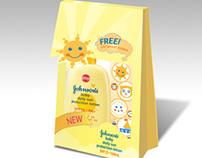 Johnson's Suncare Packaging | Under Push Associates