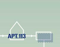 Rediseño de web A.113 / Redesign of Apartamento 113 web