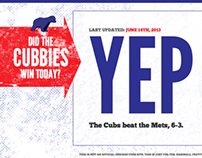 Did The Cubbies Win Today?