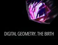 Digital Geometry. The Birth