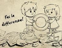 Fai la differenza!   Make the difference!