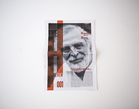 The H Review - Tabloid | Editorial Design |
