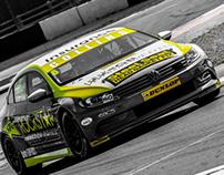 Rockstar Energy DrInk // BTCC race car livery