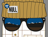 Null / Skateboard Graphic