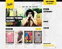 JM Siotis, Magento Responsive Yellow Fashion Theme