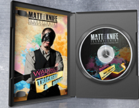 Matt the Knife - Promotional DVD Booklet and Label
