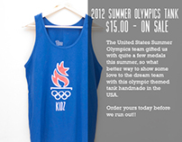 Summer 2012 Olympic Tanks - $15.00 Sale Ad