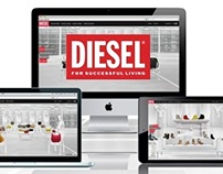 DIESEL Workshop Galleries for SS13 Collection