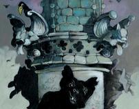 Artwork from my latest book 'Quasimodo'