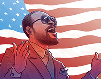 Marvin Gaye's Star Spangled Banner