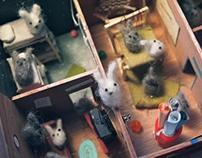fiber bunnies