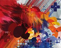 Digital Vector Abstract Art
