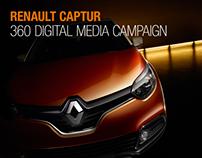 Renault Captur 360 digital campaign - 2013