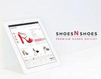 Shoes N Shoes - Premium Shoes Outlet - ecommerce design