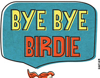 Bye Bye Birdie the Musical poster and program design