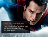 artinstitutes.edu redesign - Man of Steel