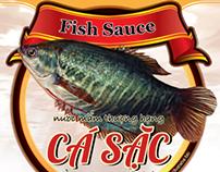 CACOM&CASAC Fish sauce label designs