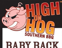 Identity Design - HIGH ON HOG