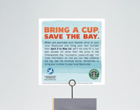 Starbucks' Save the Bay Campaign Card