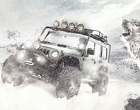 Adventure in the snow