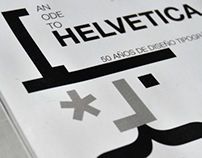AN ODE TO HELVETICA