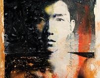 Human Interactions - Dye Transfer Paintings