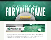 Morton Golf - Golf Ball Fitting System