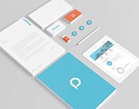 Pressium - branding and web design