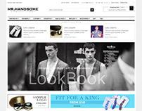Gala Mr.Handsome, Retina Responsive Magento Theme