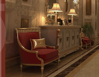 DAR MAREI HOTEL INTERIOR DESIGN - MAKKAH -SAUDI ARABIA