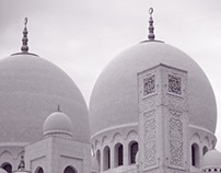 Photography - The Grand Mosque - After the Rain
