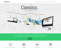 Classico, WordPress Premium Green Portfolio Theme