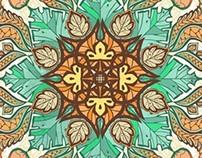 Indonesian Batik Patterns