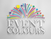 Identity design for Event Colours