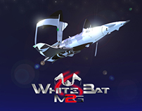 "M2G ""White Bat""              Space Business Craft"